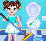 Baby Taylor House Cleaning